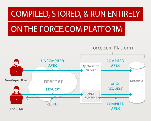 Apex Code Stored and Run on Force.com Platform