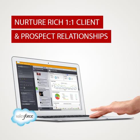 Salesforce Marketing Cloud Nurtures 1:1 Client Relationships