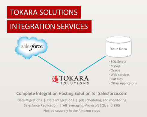 Tokara's Hosted Salesforce Integration Services Integrate CRM Functionality into Existing Practices